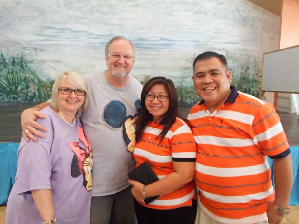 Pastors Blair & Che Cuares serve as pastoral advisors to boxing champion, Manny Pacquiao