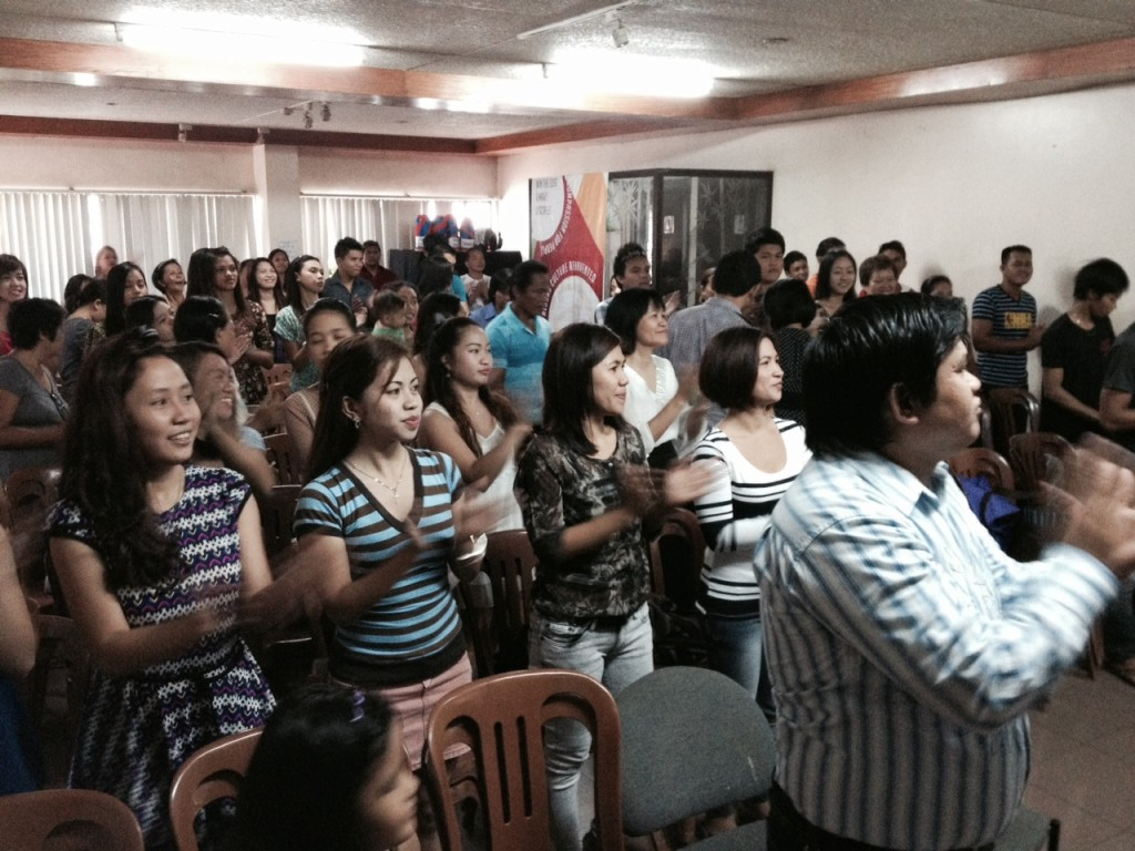 Worship wall-to-wall at CLC-Tagum City