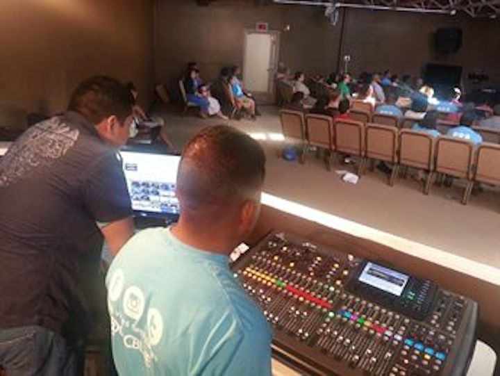 Our tech guys have the best view in the house!