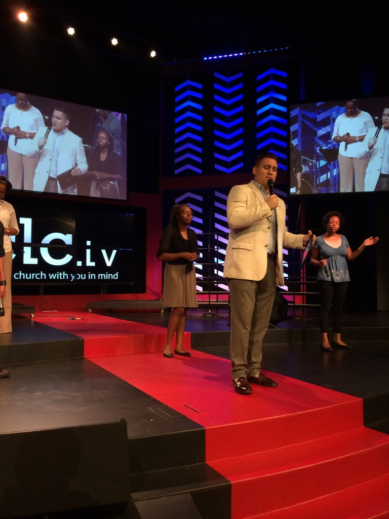our Youth Pastor, Matt DeLaTorre, did a great job of hosting the Family service