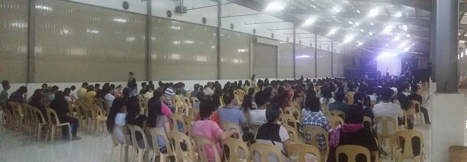 CLC-Davao had a FULL house yesterday, and 10 Filipinos prayed to receive Christ at the close!