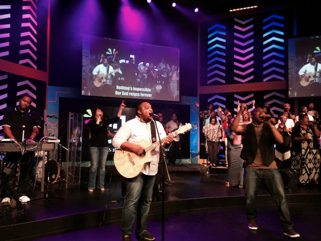 With combined SoP teams from Tinley Park, NWI & Blue Island, worship was HIGH energy!