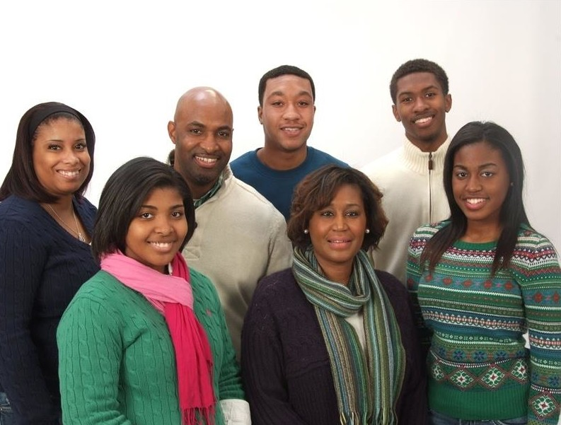 Pastors Tony & Angie Gilmore and their wonderful family