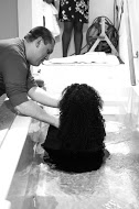 Always LOVE to see people baptized - today it was Cassandra & Dominique Simental