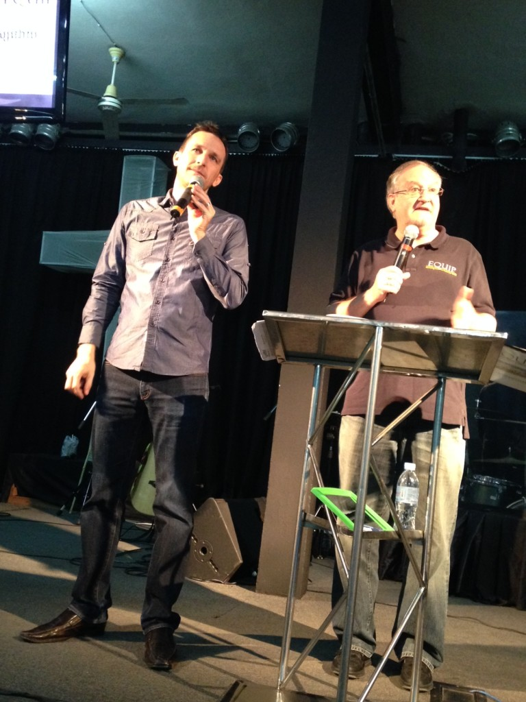 Pastor Jesse McCaul is not only a great leader & pastor of a great church, but he's perhaps the best interpreter I've ever worked with internationally, too!