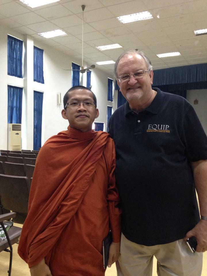 One of our delegates was a Buddhist monk, who told me personally he wants to begin attending the weekend activities at New Life Fellowship!