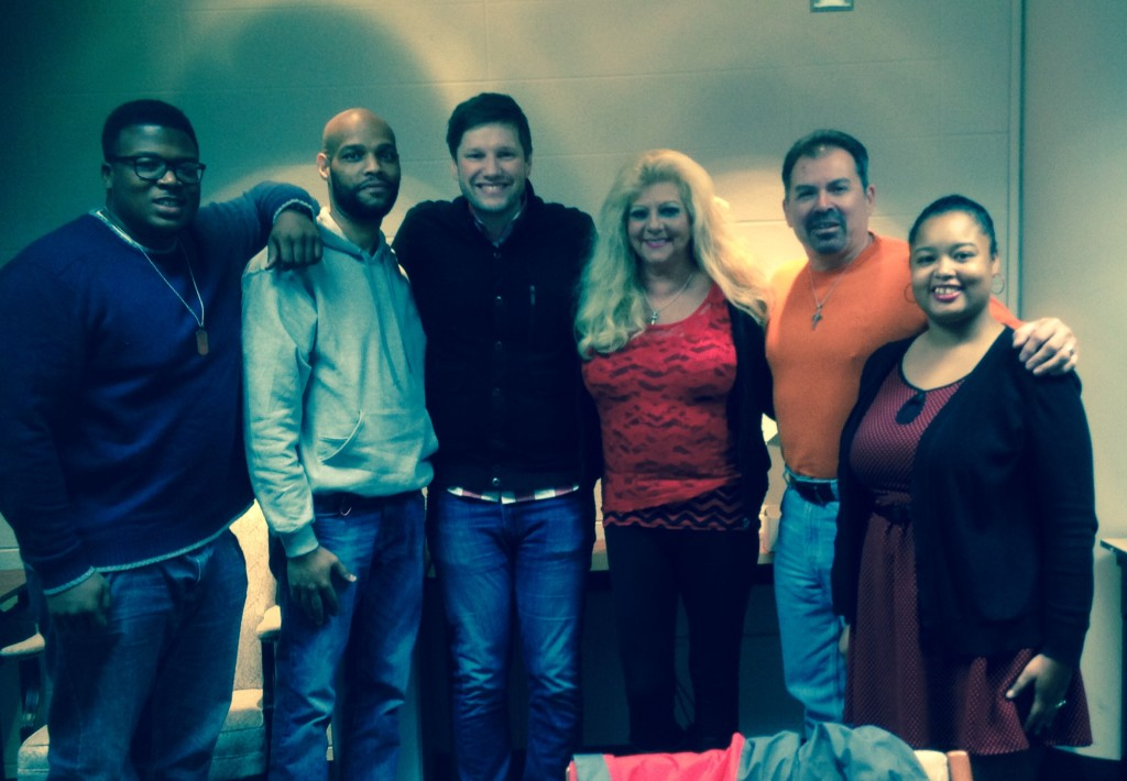 Pastor Sam reports a good day at NWI, including the addition of 5 new members pictured here!
