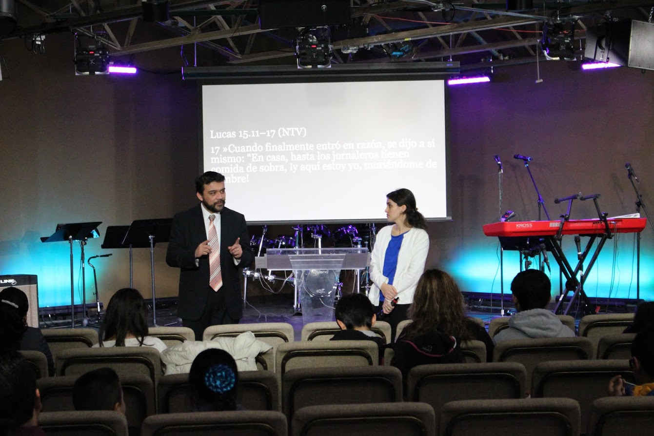Pastors William & Melek team-taught today's message & reported that some people were definitely set free today!