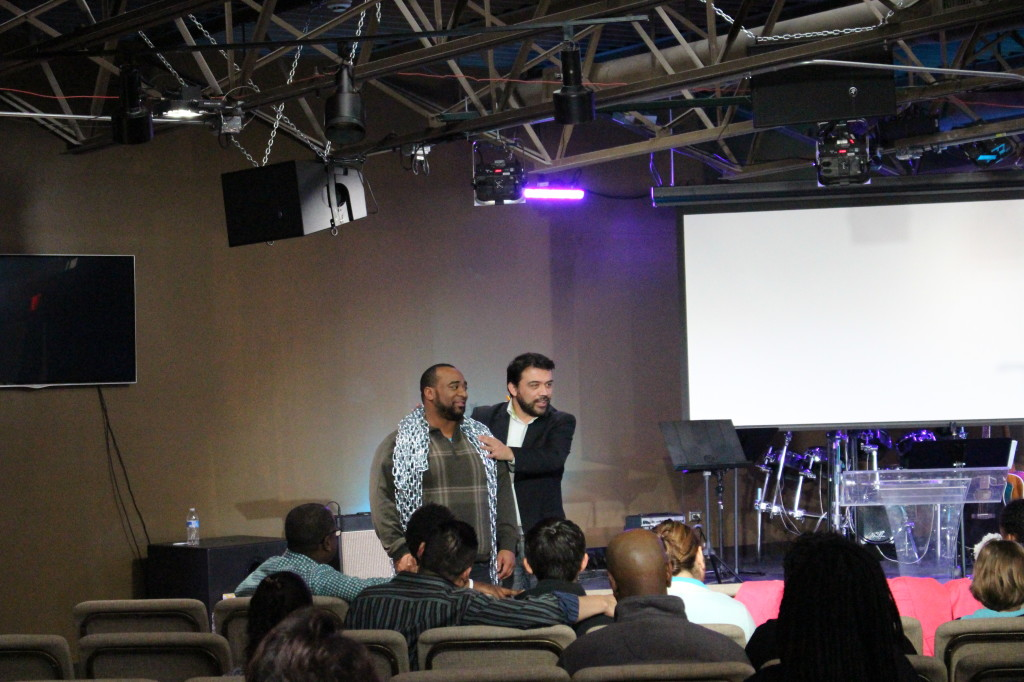 Pastor William demonstrated that believers CAN be in bondage!