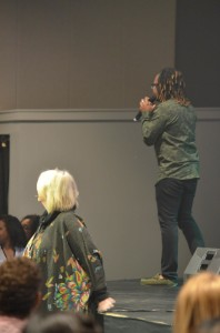 especially when Ch'vez jumped in with a prophetic word AND a prophetic song!