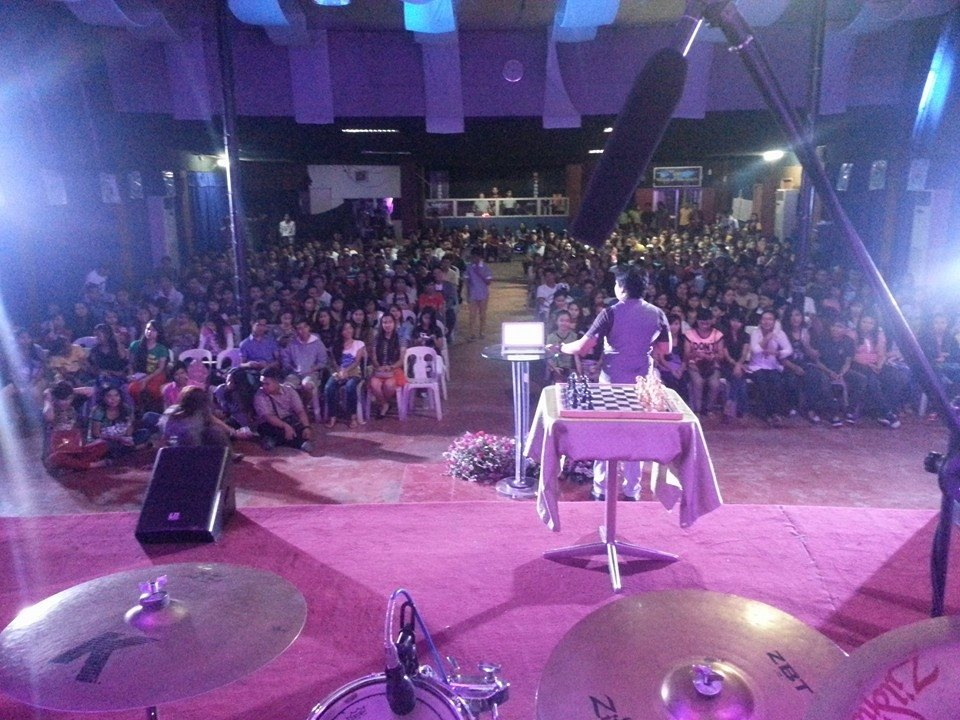 The first report I received came from our Philippines campus where they had a FULL house & great services led by Pastor Joel Montes-