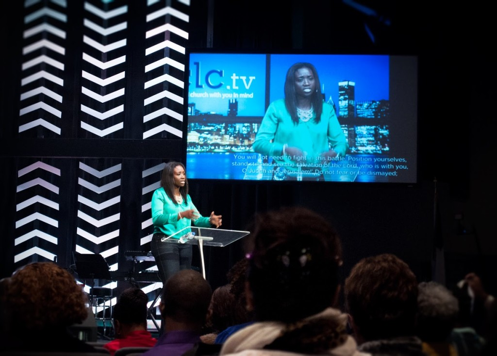Mercy Lokulutu was outstanding at the Conf & a blessing at the 8:30/10 services today