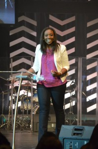 Could we have invited a better guest speaker for our 1st-ever conference?   I DON'T THINK SO! Mercy Lokulutu rocked the house!