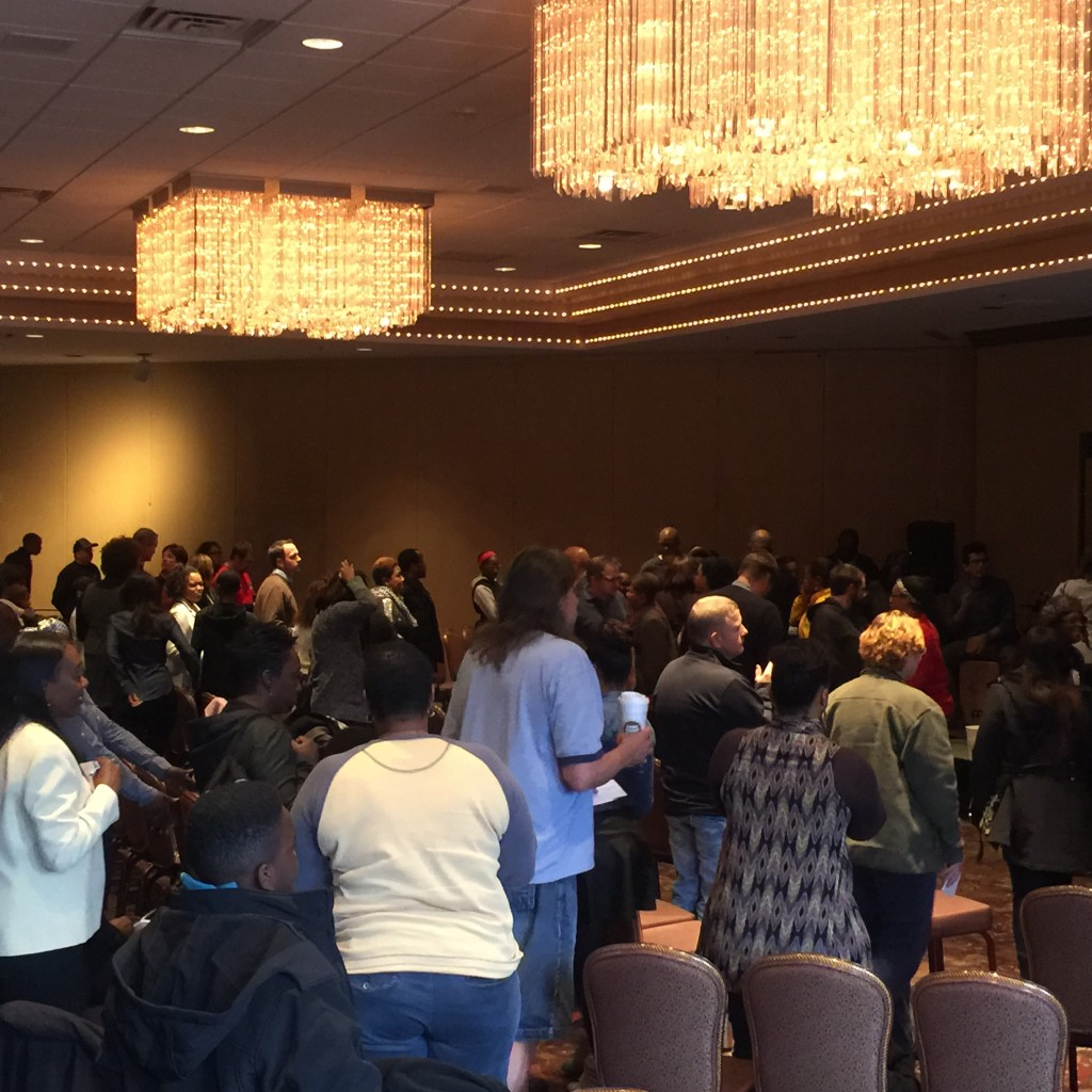 The closing offering at NWI is THE story of today at CLC - together, we closed a door to the enemy!