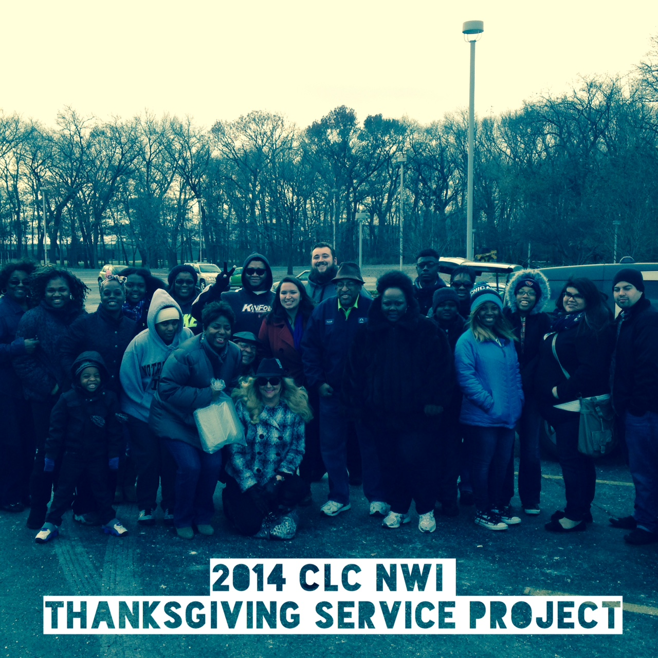 So proud of some great CLC-NWI volunteers who served meals to homeless & needy folks this Thanksgiving!