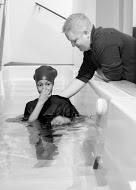 Water baptism is always a highlight, not only for the individual, but for the church family - here we rejoice with India Richardson
