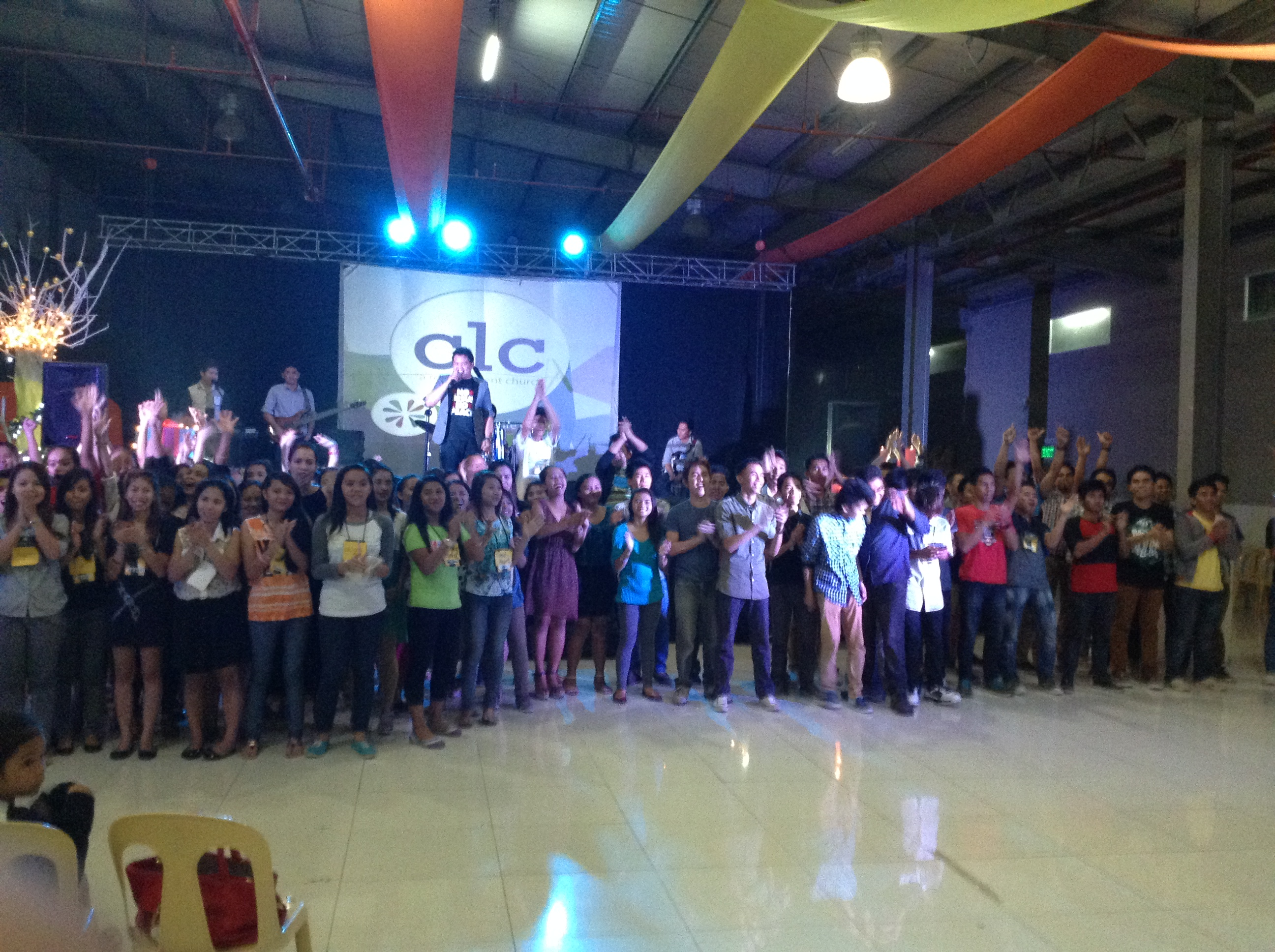 Pastor Herley reports 110 people graduated from their Encounter weekend at our Davao City campus - saved, baptized, fill & delivered!