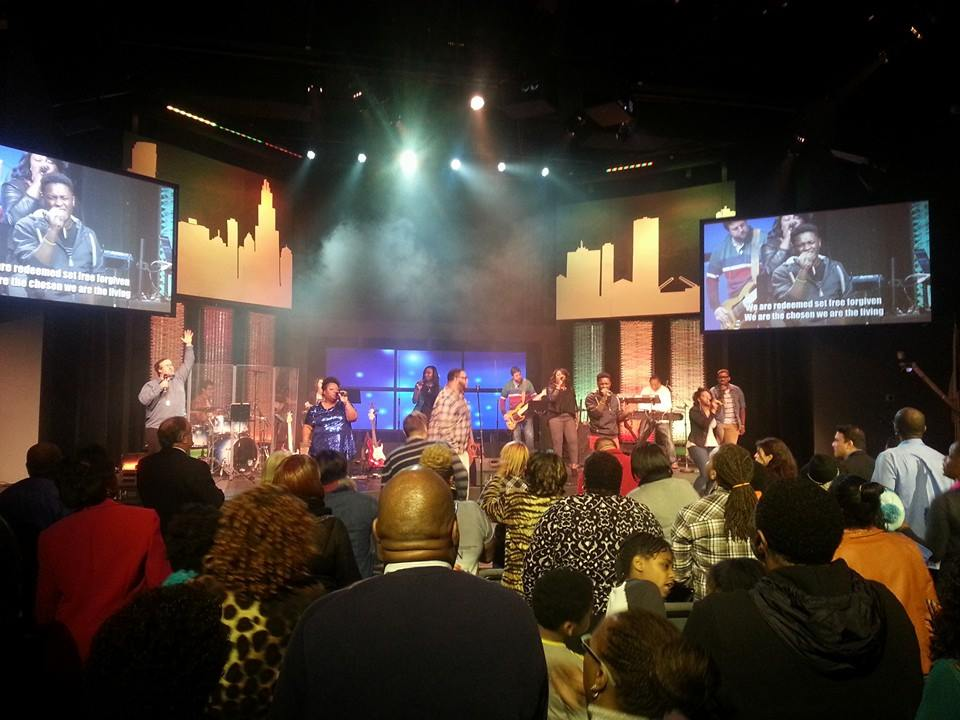 NWI praise team (led by Linell Muse) was on FIRE!