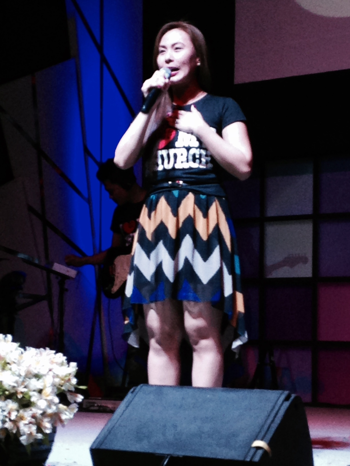 Claudette is an entertainer & Davao TV personality whose life was radically changed at CLC-Davao a few years ago.