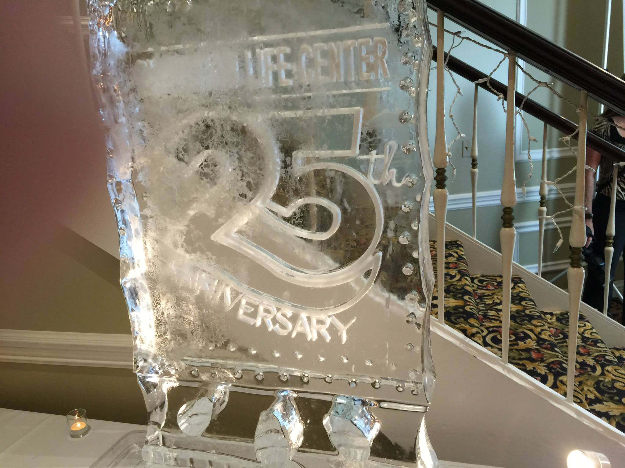 25 years in ice (seems appropriate for winter in Chicago, huh?)