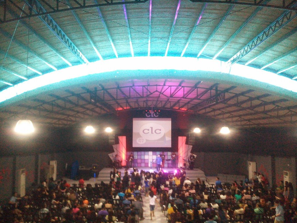 A view of Sunday morning attendance at CLC-Davao