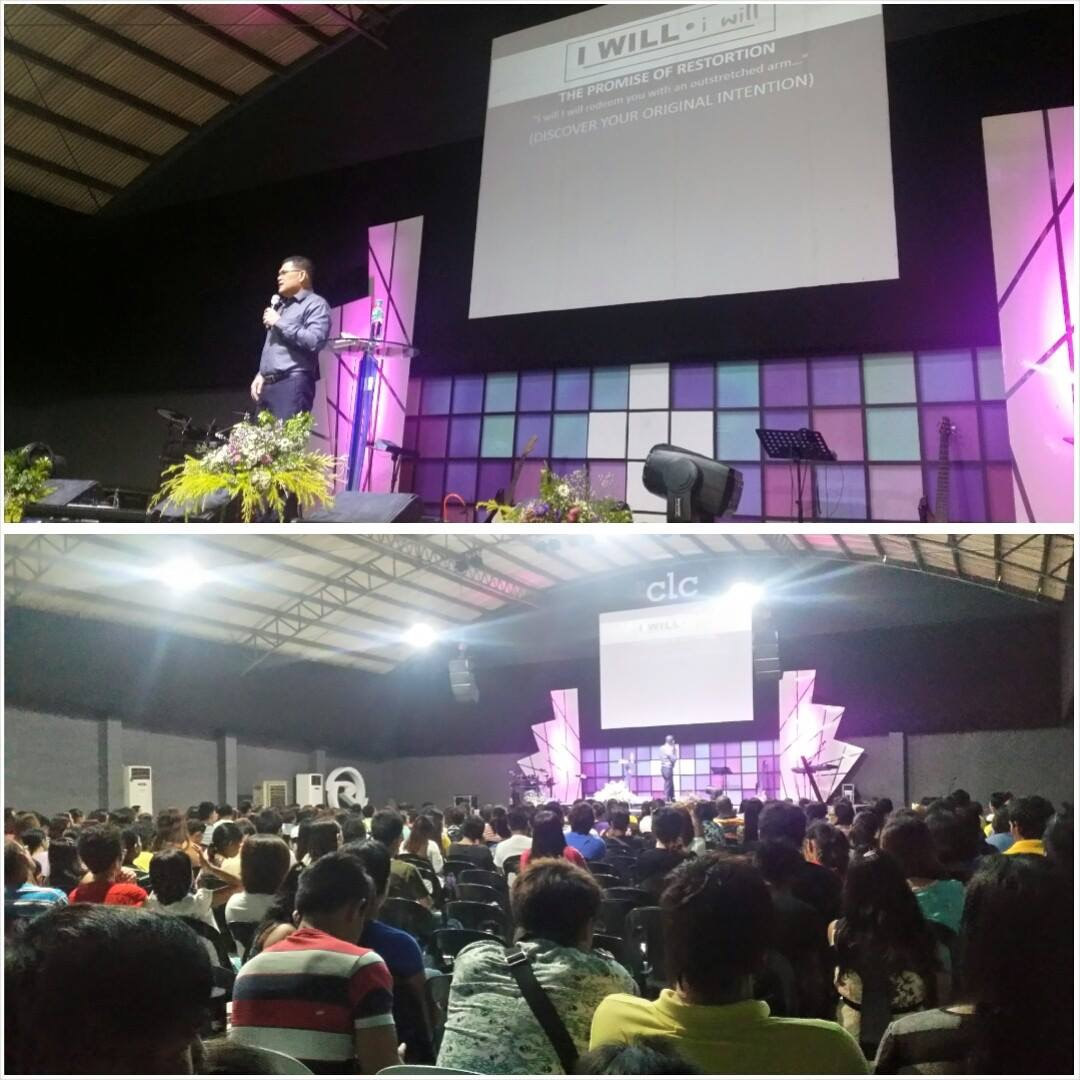 "Finally, Pastor Herley reported from the Davao campus how much their congregation is enjoying the ""I Will!"" series, as 32 people came forward to receive Jesus today!  He also requests prayer for their first Encounter Retreat of 2015, as they're expecting between 200-400 delegates.  (This is their primary event to get people baptized, filled with the Holy Spirit, and delivered!)"