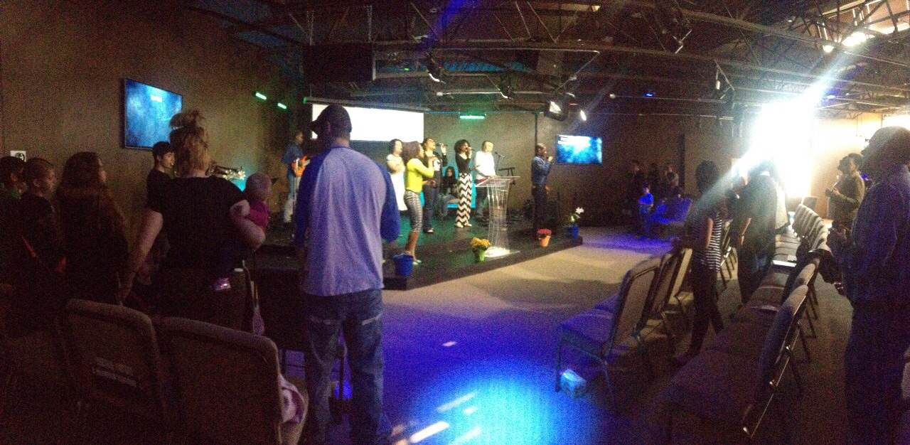 Blue Island Praise team leading us into His Presence today-