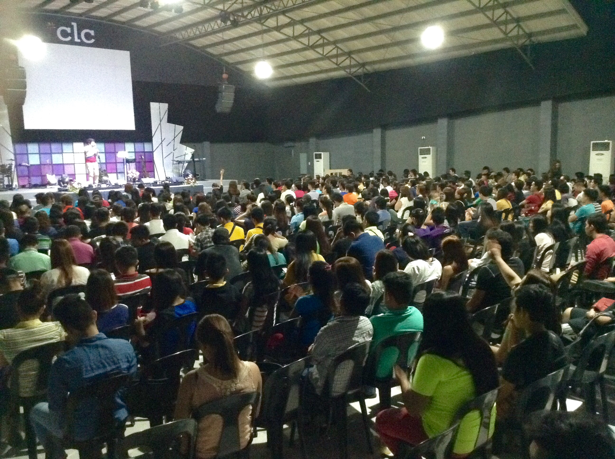 "As usual, our Davao, Philippines campus wins the 'prize', as 30 people gave their life to Christ at the close of ""The Promise of Freedom"" (Pastor Herley is doing the same series with us!)"