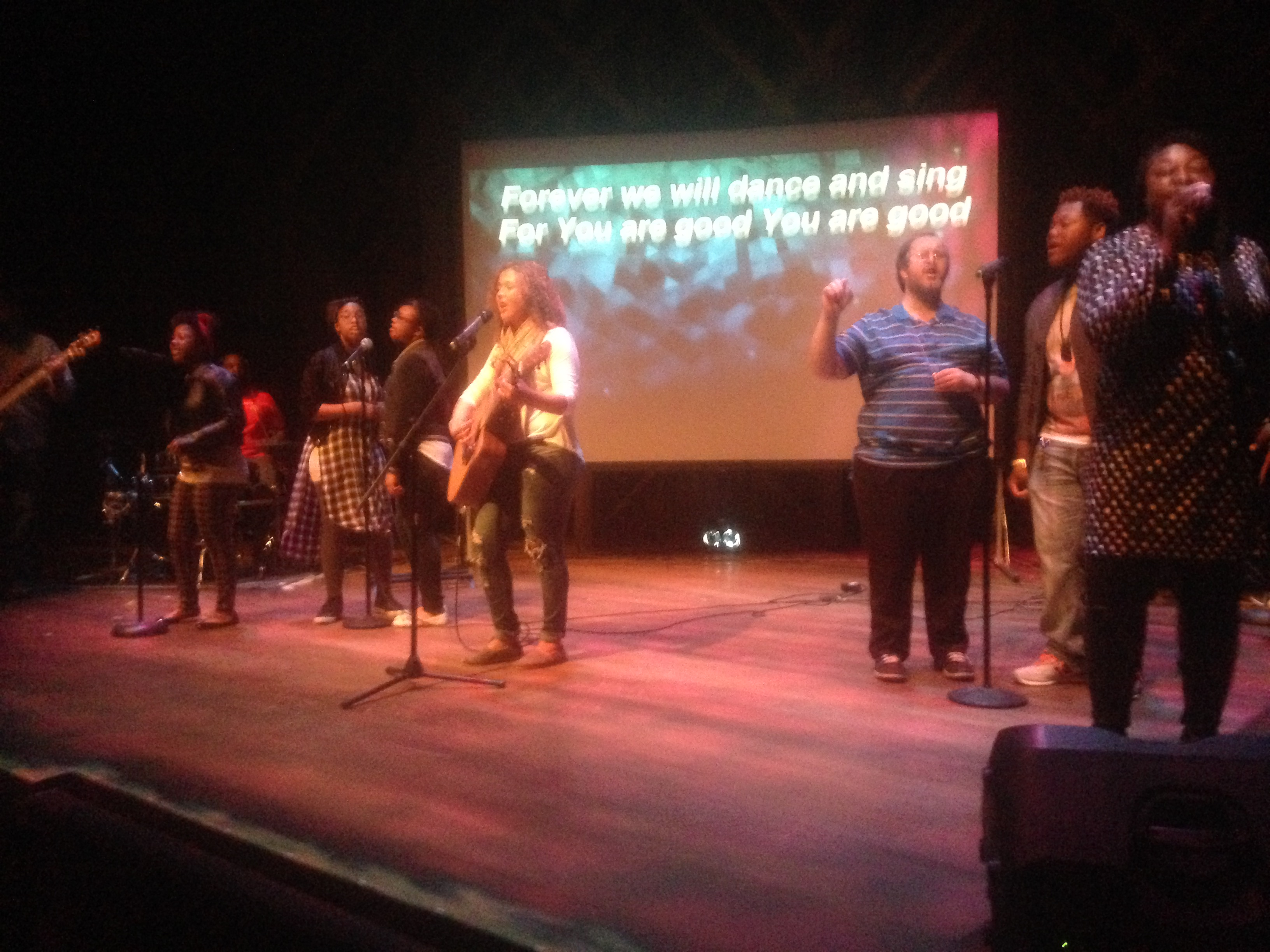 Our students LED worship (at least in NWI pictured here, and in TP)