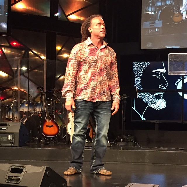 It was a privilege to hear from Todd White in the noon service at CLC-TP!