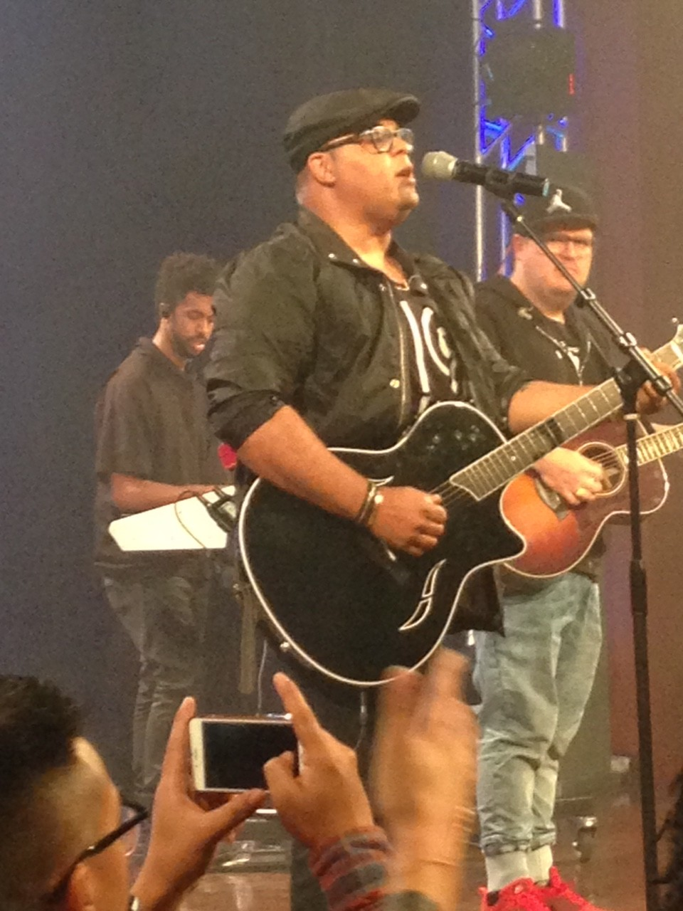 """Having Israel Houghton & BJ Wilmoth in the room last night at the """"Heart Revolution INFLUENCE"""" Conf. was an unexpected treat!"""