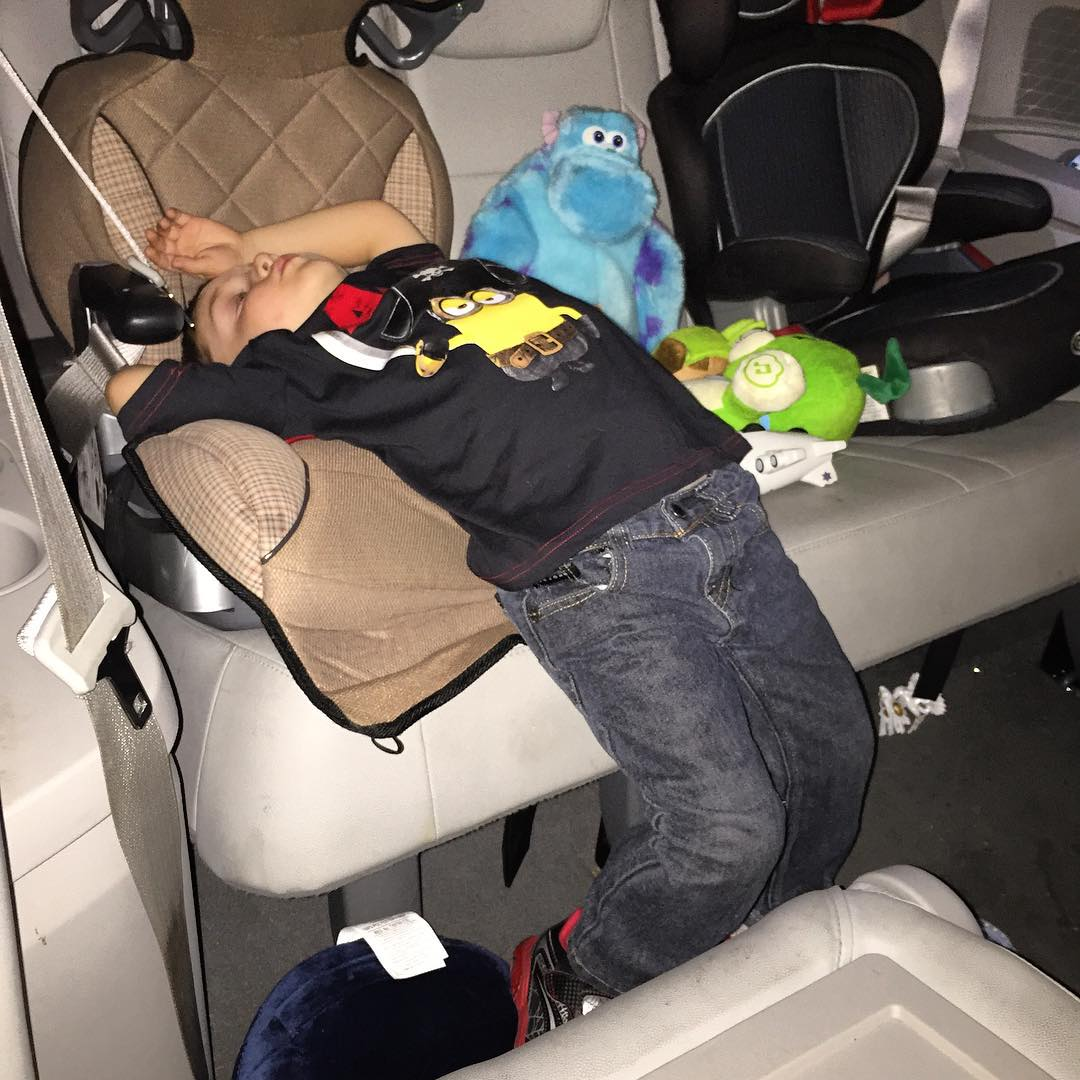 This is my youngest grandson after 3 services.  Kinda like our brains-