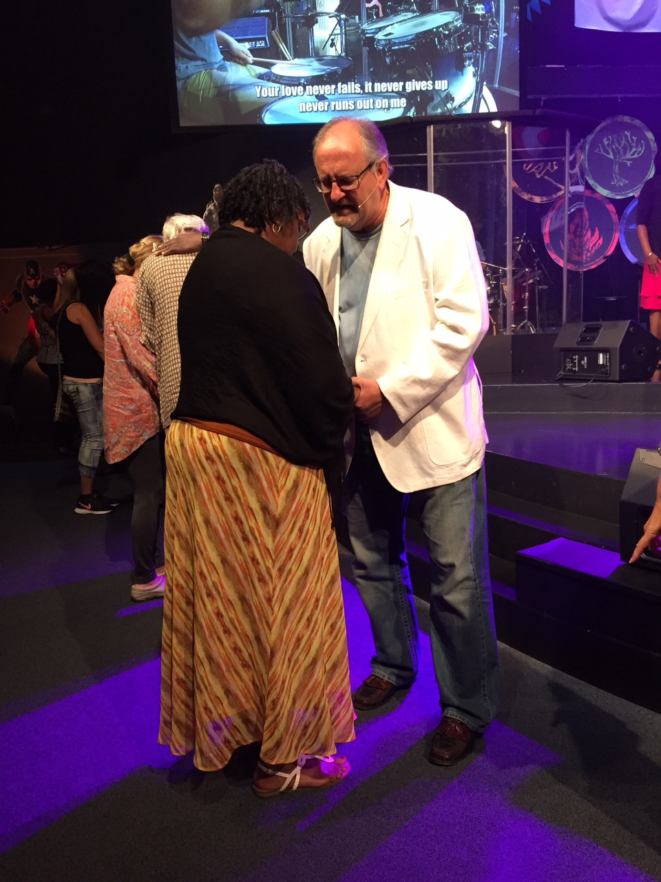 One of my favorite times in any service is when we get to pray with CLC'ers - after all, that's our first calling!
