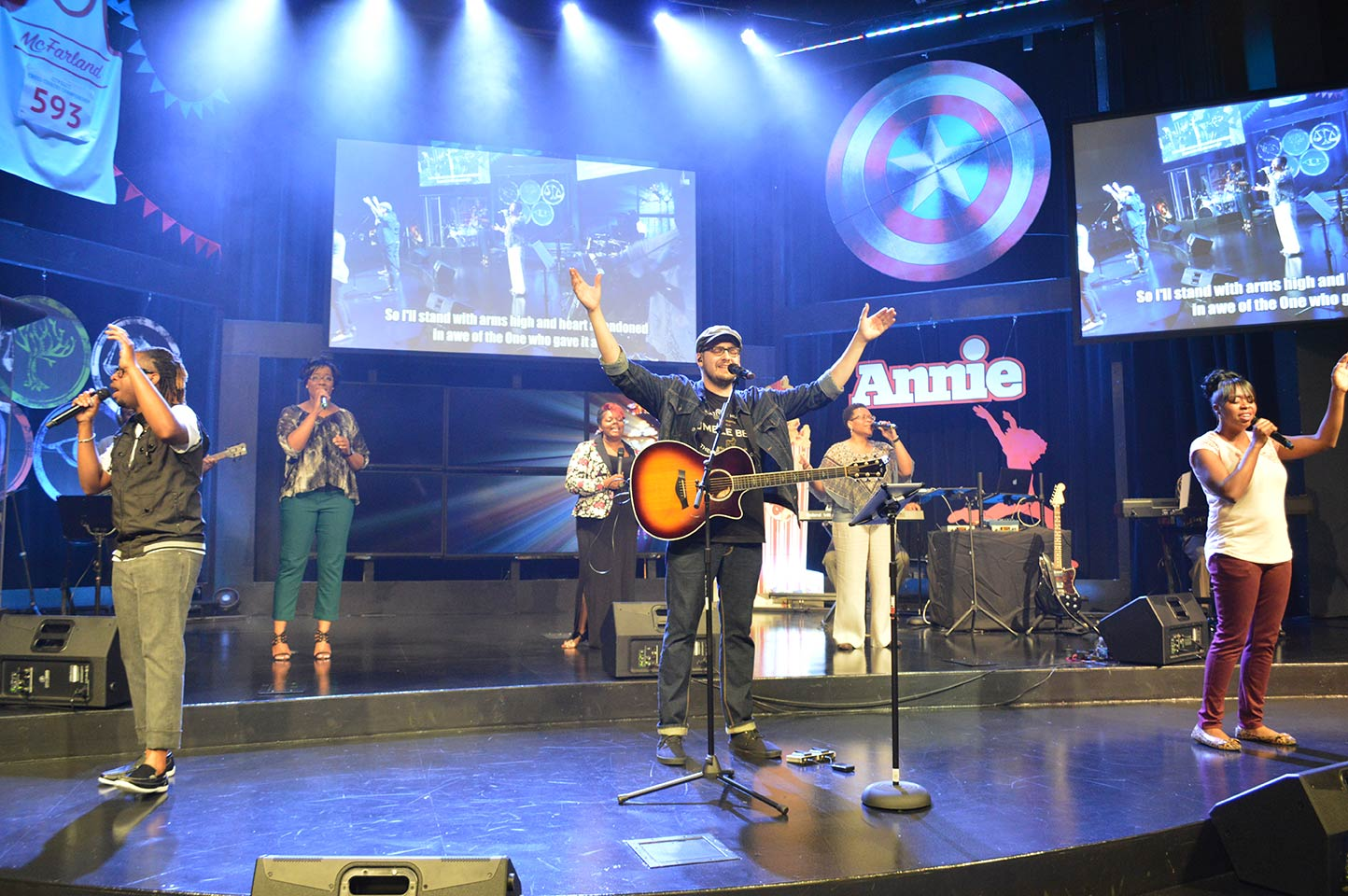 It felt GREAT to worship with our CLC family again - we missed you during our sabbatical!  And I love that last song: