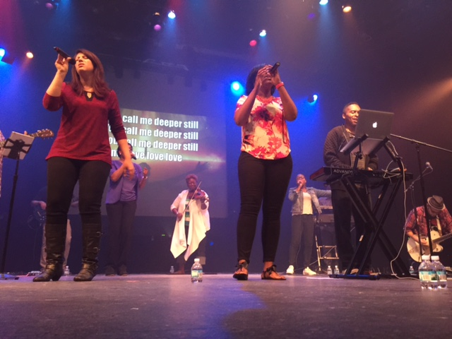 Last night's combined worship team from our 3 Chicagoland campuses led us in a great time of worship & prayer!