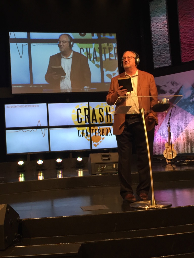 My favorite moment in preaching today had to be the Beats commercial & my Bose headphones - crashing that chatterbox!