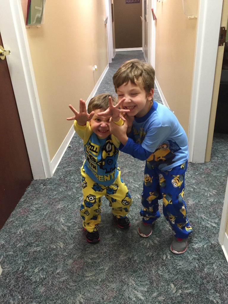Of course, I can't leave out the grandsons-