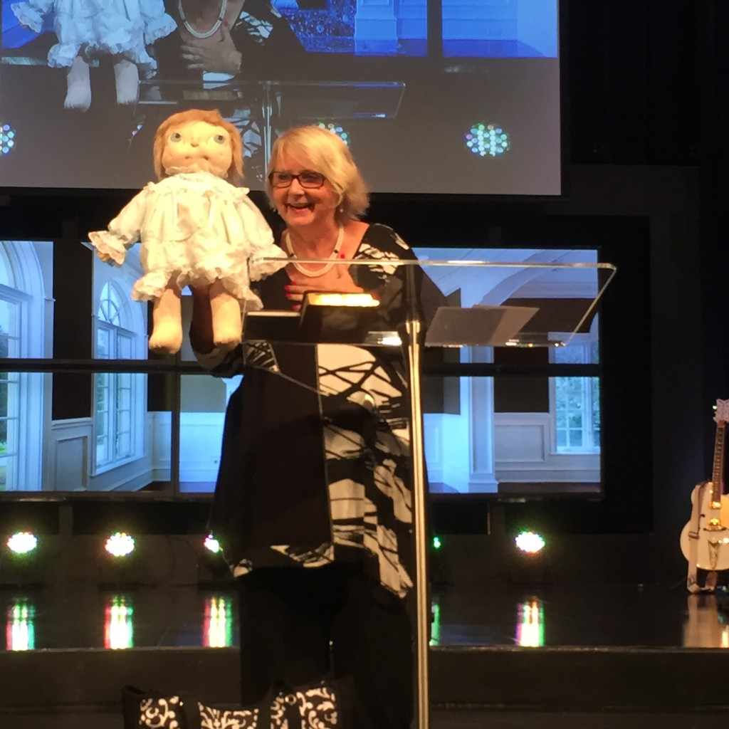 Chris' story (and a 30-year-old doll) was a great illustration of how God can provide for our needs!