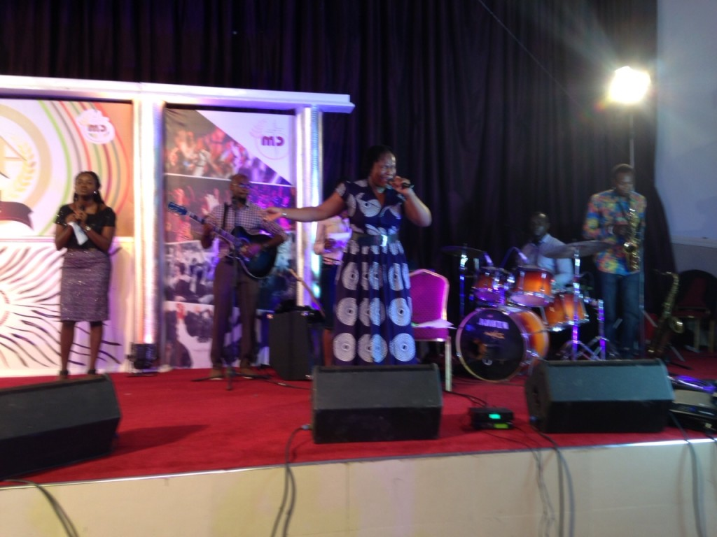 I called it a 'banquet' only because a meal was served; otherwise, we had CHUCH! (this praise team insured that with anointed music & singing, as only Nigerians can!)