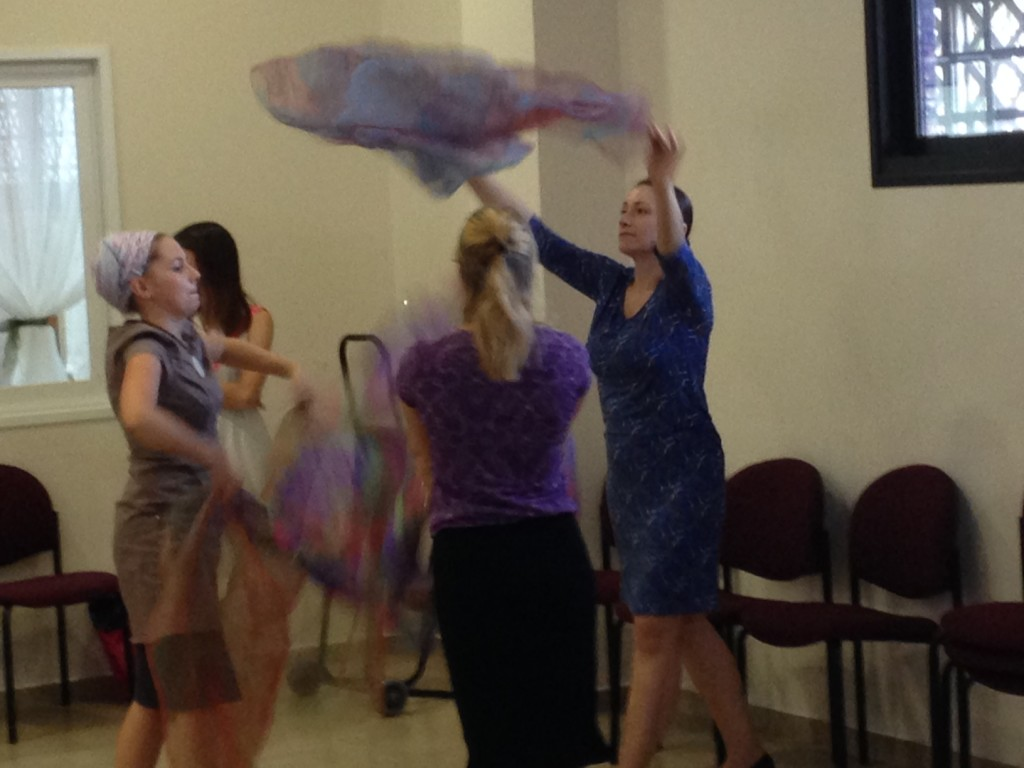 Messianic praise dancers in action tonight!