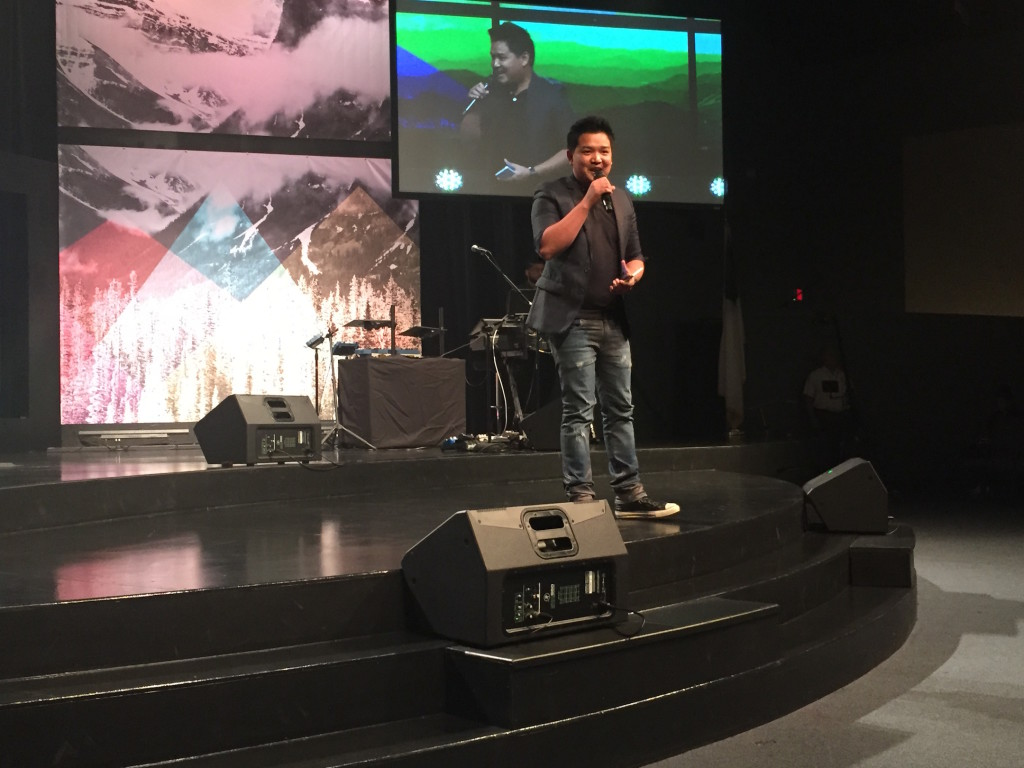 A special treat was having Pastor Joel Montes from our Davao, Philippines campus in the house today & he shared a great offering message, 'Keep the Fire Burning!'