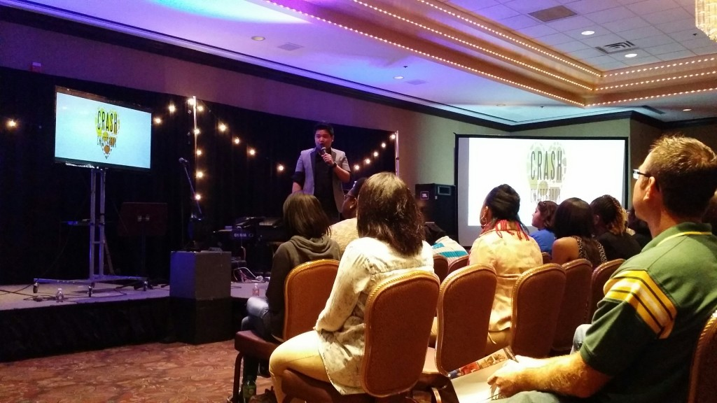 Pastor Sam  said Pastor Joel Montes hit a home run with the message at NWI campus