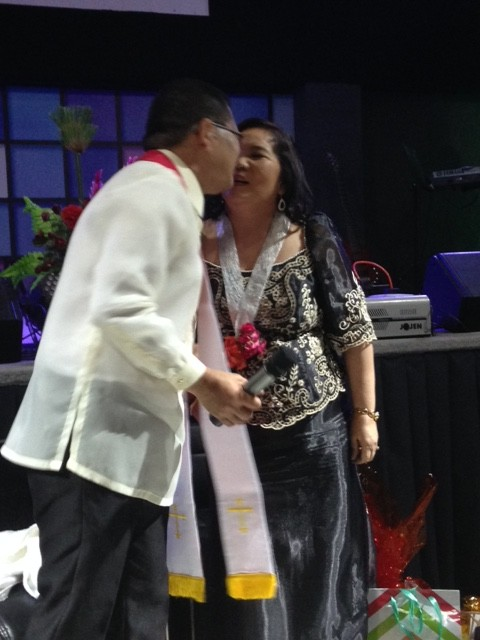 "Herley responded with a kiss, which she said was ""more than at our wedding""!"