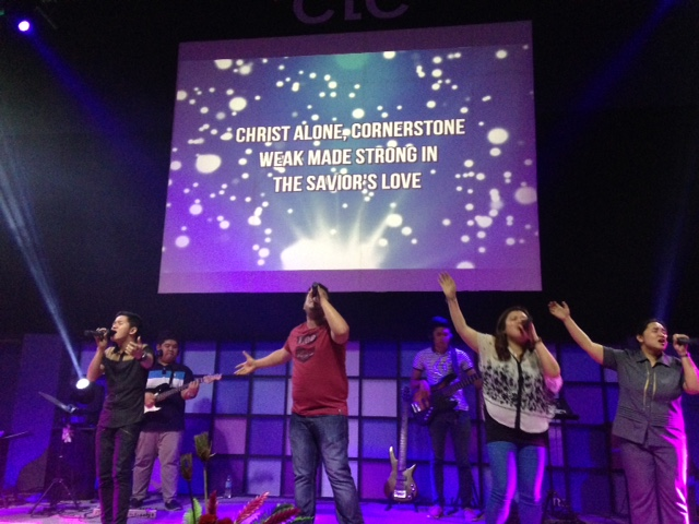 Worship here is always good, whether it's a small daytime session or the main evening events - it just feels like CLC!