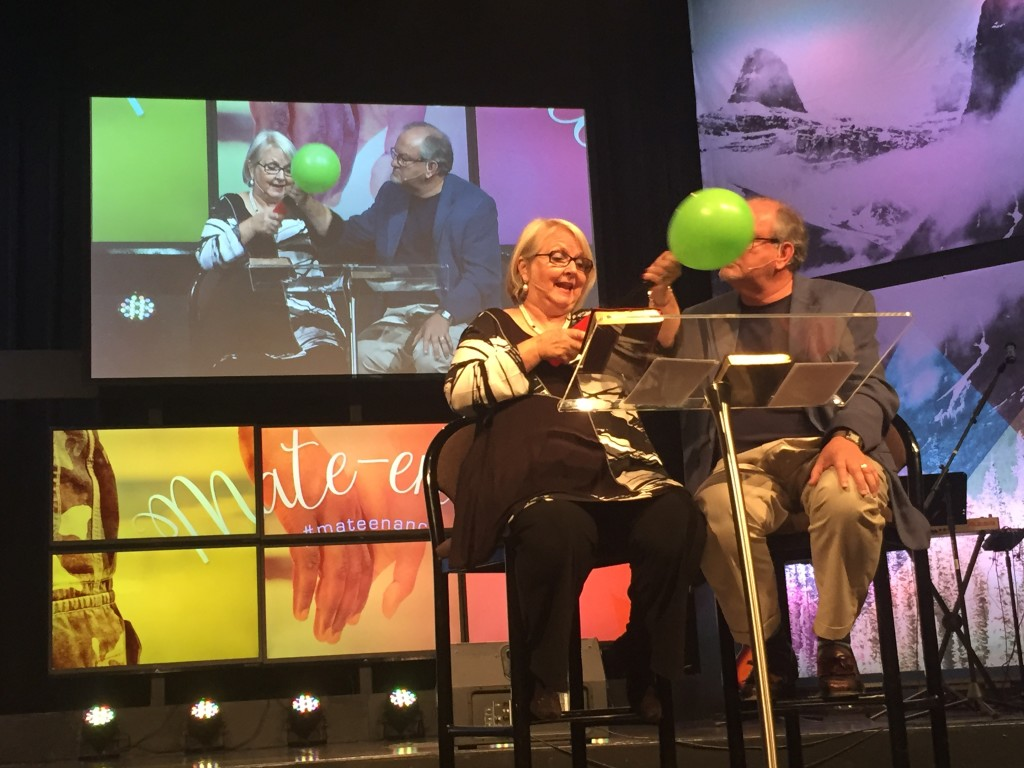For sure, we had everyone's attention when the balloon popped today - in every service!  Remember to deal with your anger quickly - don't let it build!