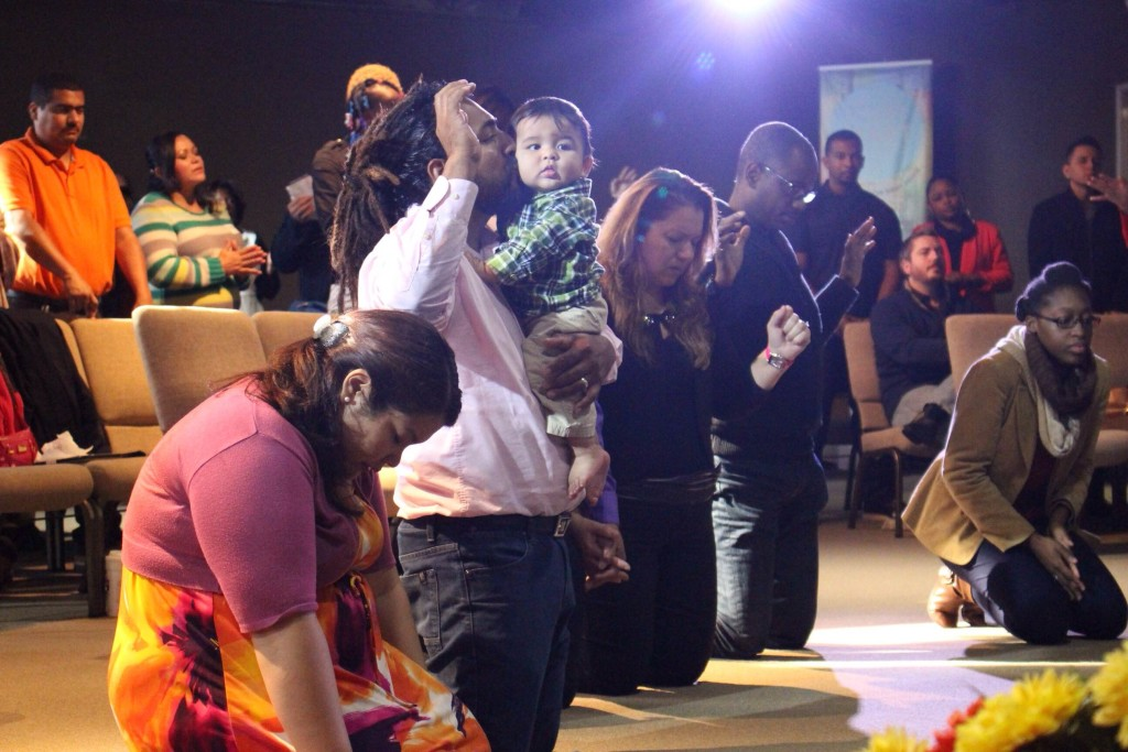 There was a real touch of the Holy Spirit at our Blue Island campus, and 2 people prayed to receive Christ!