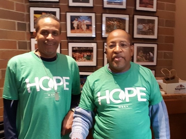 "Our NWI campus is doing a ""Hope Week"" serving their community with 7 different projects and a goal of 152 hours of service! Whether around the corner or around the world, we're on mission!"