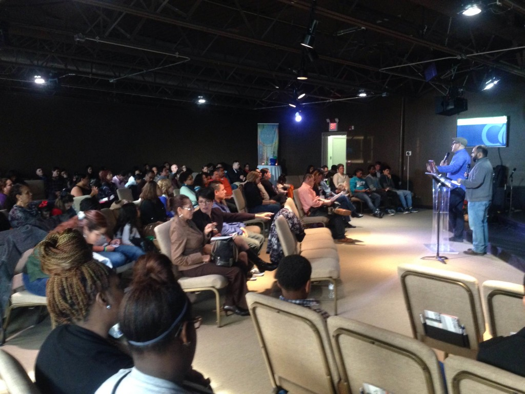 Pastor Matt DeLaTorre did a great job bringing the Word in Pastor William's absence today at our Blue Island campus.