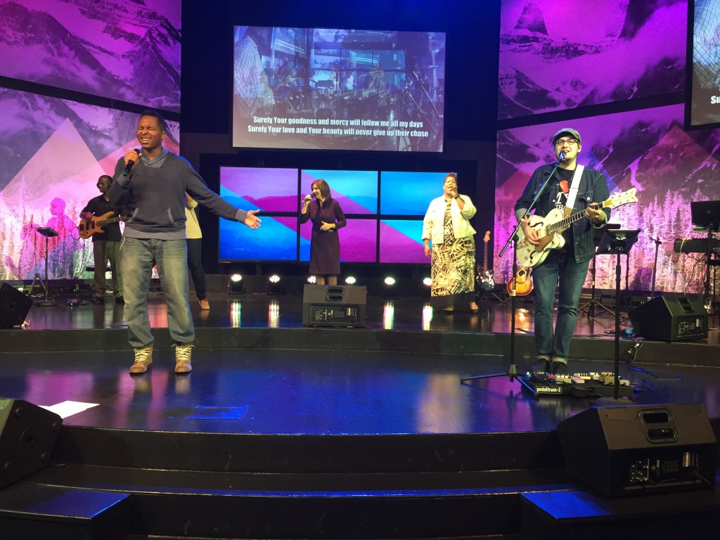 As usual, Pastor Jon & Harmony helped us open our hearts to the Lord through worship
