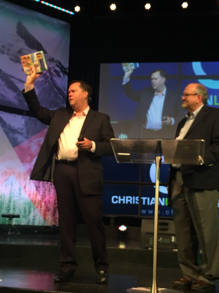 CLC had the incredible privilege of being the FIRST church to see the newly released Bible App for Kids Storybook - and you bought out every copy we had (we're ordering more for next week)